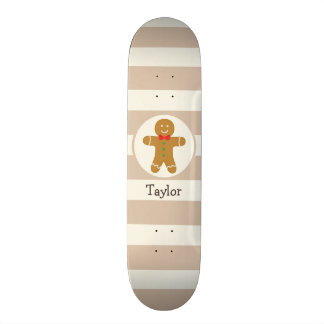 Christmas Gingerbread Man 21.3 Cm Mini Skateboard Deck