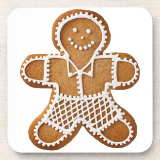 Christmas Gingerbread Man Coaster