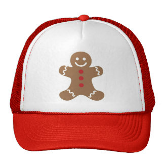 Christmas Gingerbread Man Hat