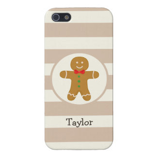 Christmas Gingerbread Man Cover For iPhone 5