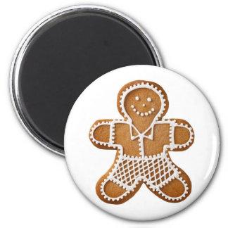 Christmas Gingerbread Man Magnet