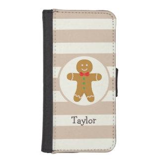 Christmas Gingerbread Man Phone Wallet