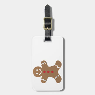 Christmas Gingerbread Man Tags For Luggage