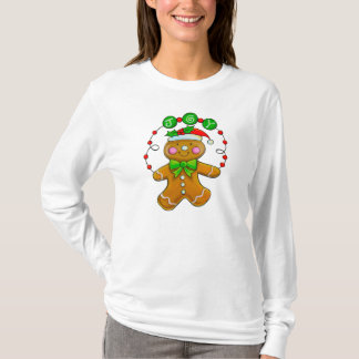 Christmas Gingerbread Man TShirt Jumper