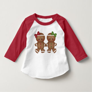 Christmas Gingerbread toddler girl's t-shirt