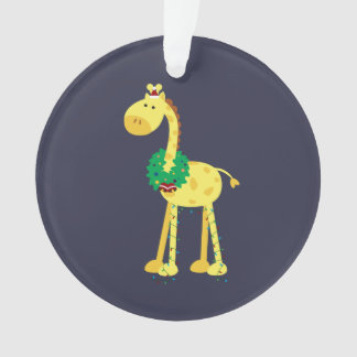 Christmas Giraffe Ornament