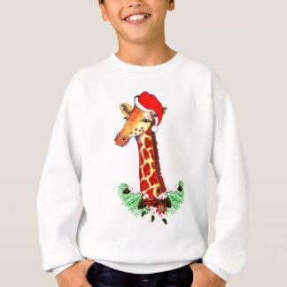Christmas Giraffe Sweatshirt