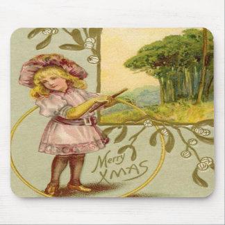 Christmas Girl2 Mousepad