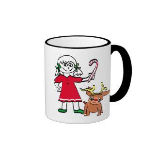 Christmas Girl Mug