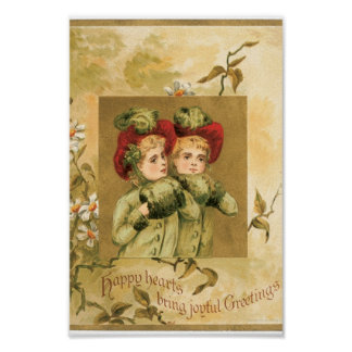 Christmas Girls Poster