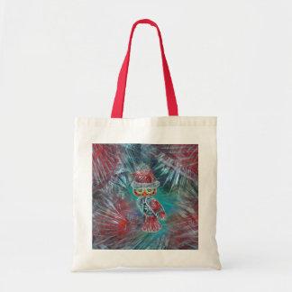 Christmas Glamour Fashion Santa Owl Bag