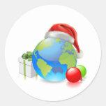 Christmas Globe Stickers