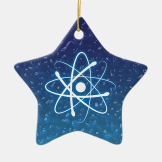 Christmas Glowing Atom Ornament