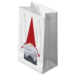 Christmas Gnome Gift Bag