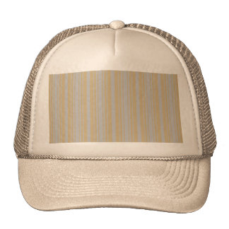 Christmas Gold and Christmas Silver Stripes Trucker Hat