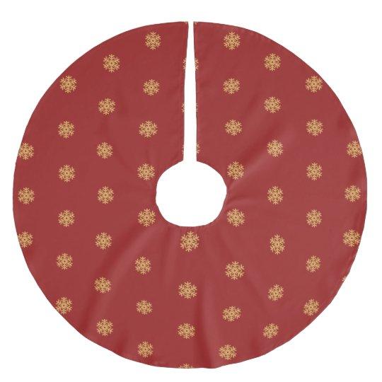 Christmas gold snowflake pattern, customisable BG Brushed