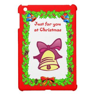 Christmas golden bell iPad mini case