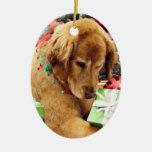 Christmas - Golden Retriever - Addison Ornaments