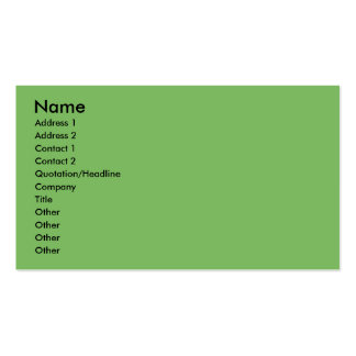 Christmas - Golden Retriever - Conor Double-Sided Standard Business Cards (Pack Of 100)