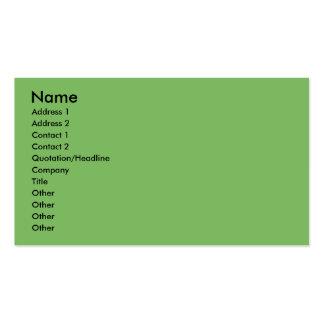 Christmas- Golden Retriever - Wrigley Business Card Template
