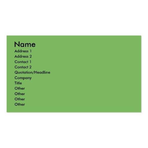 Christmas - Golden Retriever - Wrigley Business Card Templates