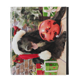 Christmas - Golden Retriever X - Colby iPad Folio Cases