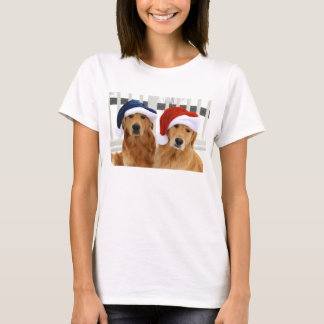 Christmas Golden T Shirt