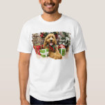 Christmas - GoldenDoodle - Claire Tee Shirts