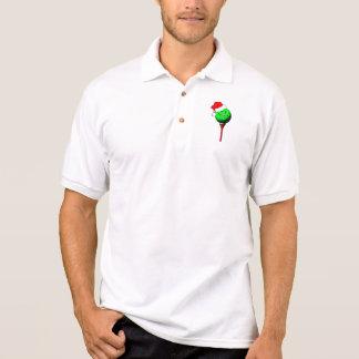 Christmas golf polos