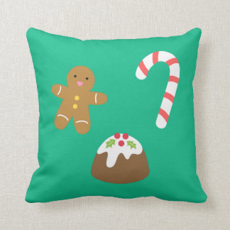 Christmas Goodies, Gingerbread Man, Candy, Pudding Cushion