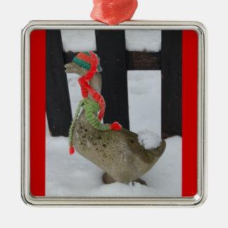 Christmas Goose Christmas Ornament