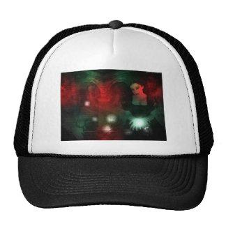 Christmas gothic trucker hats