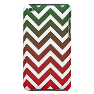 Christmas Gradient Chevron iPod Touch Covers
