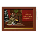 Christmas, Grandmother, Old Fashioned Card