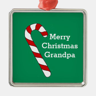 Christmas Grandpa Green Ornament by Janz