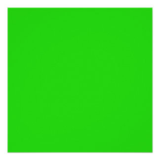 Christmas Green Bright Color Trend Blank Template Posters