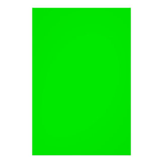 Christmas Green Bright Neon Color Blank Template Poster