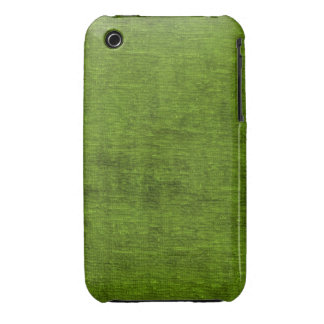 Christmas Green Chenille Fabric Texture iPhone 3 Case-Mate Case