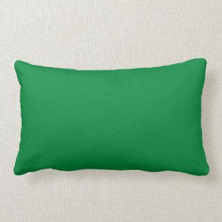 Christmas Green Dark Color Trend Blank Template Throw Pillows
