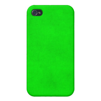 Christmas Green Light Textured Parchment Template iPhone 4/4S Case