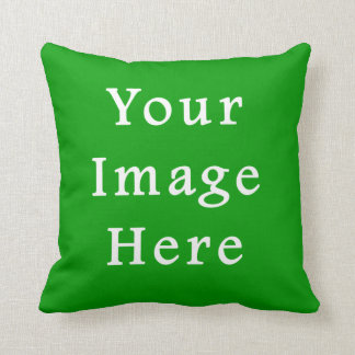 Christmas Green Retro Color Trend Blank Template Cushion