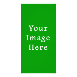 Christmas Green Retro Color Trend Blank Template Photo Greeting Card
