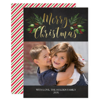 Christmas Greenery Card