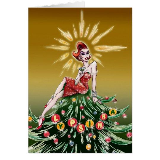 Christmas Greeting Card #3 (blank inside)