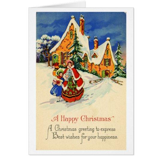 Christmas Greeting Card (ca. 1920)