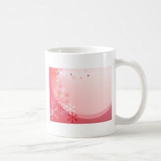 Christmas greeting card coffee mugs