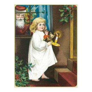 Christmas Greeting Postcard