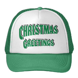 Christmas Greetings #2b Cap