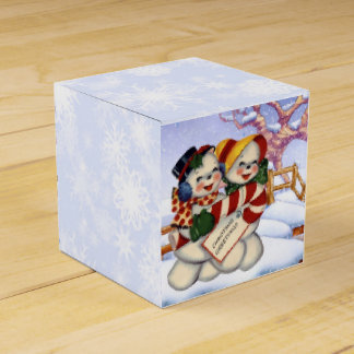 Christmas Greetings 3 Favour Box