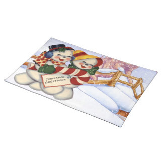 Christmas Greetings 3 Placemat